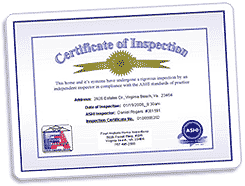 Certified pre-inspected homes